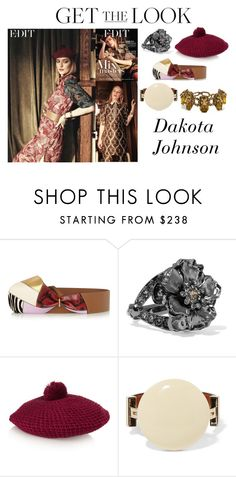 """Dakota Johnson Photoshoot The EDIT Magazine January 2016 #4"" by valensmilerstyle ❤ liked on Polyvore featuring Marni, Alexander McQueen, Gucci, women's clothing, women, female, woman, misses and juniors"