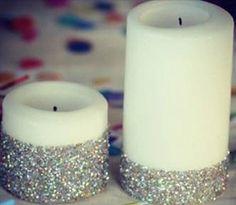 Modge Podge Candles
