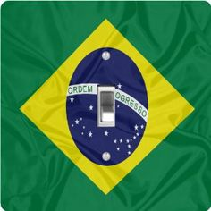 "Rikki KnightTM Brazil Flag - Single Toggle Light Switch Cover by Rikki Knight. $13.99. The Brazil Flag single toggle light switch cover is made of commercial vibrant quality masonite Hardboard that is cut into 5"" Square with 1'8"" thick material. The Beautiful Art Photo Reproduction is printed directly into the switch plate and not decoupaged which make these Light Switch Plates suitable for use in any room in the office, home, etc. etc.. These Light Switch Plates can also be matc..."