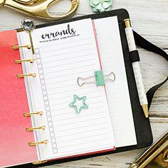 Insertar personal planificador imprimible  por HeatherGreenwoodShop