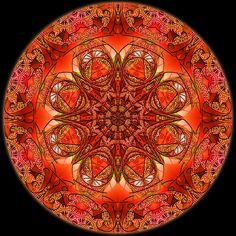 Mandala 4 Digital Colored Kaleidoscope - RuthArt by RuthArt, via Flickr