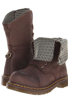 Dr. Martens Work Leah ST (Dark Brown Wyoming) Women's Work Boots - Dr. Martens Work, Leah ST, R16781201, Footwear Boot Work, Work, Boot, Footwear, Shoes, Gift - Outfit Ideas And Street Style 2017