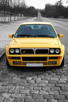 E30, Retro Cars, Vintage Cars, Hatchback Cars, Lancia Delta, Yellow Car, Ford, Maserati, Cars And Motorcycles