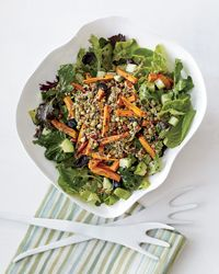 Super Sprout Chopped Salad    Some of the ingredients might not make it into my final line up, but there's a good base to work with.