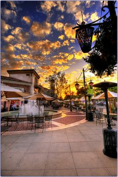 Westlake Village Promenade, California