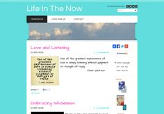 The new look Life In The Now ~ via @url2pin