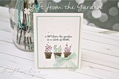 Gifts from the Garden, project ideas - Stampin' Up!, Craft with Joyce - Joyce Fowler