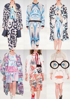 London Graduate Fashion Week 2015 – Catwalk Print & Pattern Highlights