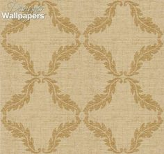 The sophistication displayed by the alluring damask design in Antoine Trellis is heightened by its elaborate worn textured effect. Part of Thibaut's Damask Resource Volume 3 collection, the brilliant geometric pattern of flowing leaves makes this wallpaper a perfect illustration of simple elegance.