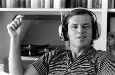 """jayswain72: """"Jack Nicholson with a joint chillin to some tunes. Excellent. """""""