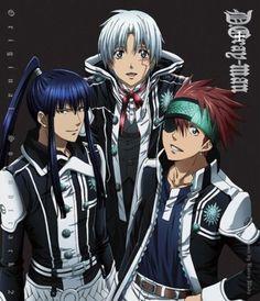 D. Gray-man, Kanda, Allen and Lavi