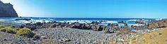 Panorámica de la costa en Buenavista del Norte.Tenerife. Islas Canarias, Spain.    [By Valentin Enrique].