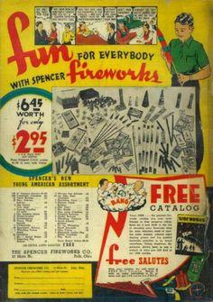 Spencer's Fireworks Catalog/