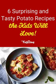 6 Surprising and Tasty Potato Recipes the Kids Will Love National Potato Day, Tasty Potato Recipes, Nutritious Meals, Family Meals, Roast, Dinners, Potatoes, Favorite Recipes, Baking