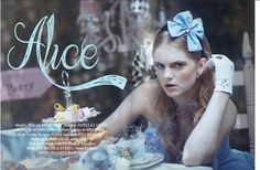 Alice in Wonderland / karen cox.  © Emily Soto | Fashion Photographer | Alice