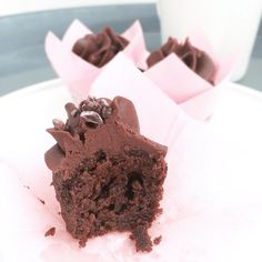 low carb brownie cupcake chocolate