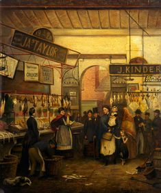 George Henry Wimpenny The Old Fish Market, Oldham, Lancashire - The Largest Art reproductions Center In Our website. Low Wholesale Prices Great Pricing Quality Hand paintings for saleGeorge Henry Wimpenny Irish Painters, George Henry, Art Periods, Manchester Art, History Photos, Art Uk, Art Themes, Large Art, Art For Sale