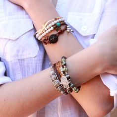 Lovepray jewelry new styles, bracelet stacks! #lovepray #bracelets #stacks