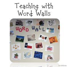 """Maybe if I read this, I will understand what the big, damn deal is! Are you looking for new ideas for teaching with Word Walls? No classroom should be without an interactive word wall! The power of an interactive word wall in the classroom is amazing. The key to a successful word wall is the word, """"interactive."""" Students need to actively interact with the word wall. This presentation has different ideas to activate learning with your word wall. Questions included!"""