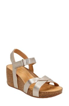 9f40fcb39f95f2 Clarks®  Temira Compass  Platform Wedge Sandal (Women) available at   Nordstrom