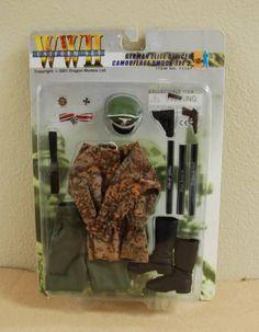 Dragon WWII GERMAN ELITE OFFICER CAMOUFLAGE SMOCK SET 2  Uniform Set #71107 NIP