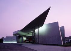 Vitra Fire Station, Weil am Rhein, Germany, 1993. Photograph by Christian Richters