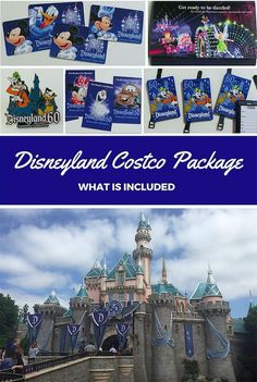 What is included in a Disneyland Costco package deal.  Great perks & saves money!