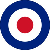 Royal Air Force Roundel -1914 to Present ~~ many nations of the British Empire and Commonwealth continued to use the RAF Roundels after receiving their independence including Canada; Australia; New Zealand; India and others until nationalism demanded unique Roundels for each of those countries!