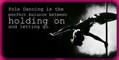 Perfect balance Pole Dancing Quotes, Pole Dancing Fitness, Pole Fitness, Aerial Acrobatics, Aerial Silks, Pole Dance, Portable Dance Pole, Unique Fitness, Dance Motivation