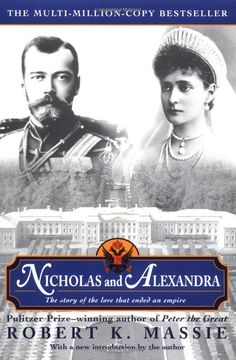 """Terrific book!  Nicholas and Alexandra had one of the few """"love match"""" royal marriages during that day and age.  I love reading biographies, because I learn so much history from them."""