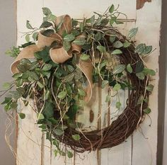 "22 ""bestseller front door wreath, greenery wreath - wreath ideal for all year round . - 22 ""bestseller front door wreath, greenery wreath – wreath ideal for all year round, everyday bur - Fall Wreaths, Christmas Wreaths, Christmas Decorations, Xmas, Mesh Wreaths, Burlap Decorations, Door Hanging Decorations, Floral Wreaths, Burlap Christmas"