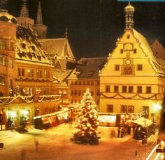 heidelberg at Christmas time.  I've dreamed about this since I was in middle school.  :)