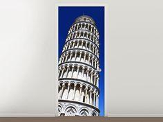Tür #Tapete Der schiefe Turm von Pisa
