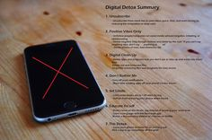 Digital Detox Summary: Reducing smartphone addiction and make technology work for you!