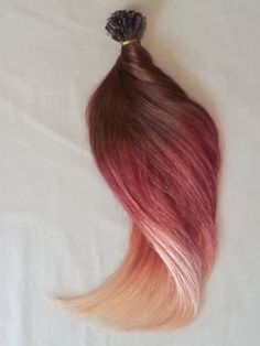 18 100grs100sNail U Tip Pastel Human Hair by Hairfauxyou on Etsy, $179.99