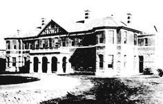 The Administration Block Claremont Hospital for the Insane, Western Australia, 1912 Psychiatric Hospital, Historical Pictures, Asylum, Western Australia, Perth, Old Photos, Tours, Hospitals, Mansions