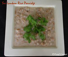 Sri Lankan Red Rice Porridge