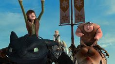 """""""Is he…gloating?"""" """"I'm not sure, I've never actually seen Hiccup gloat."""""""