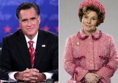 Mitt Romney Is Dolores Umbridge: Harry Potter-obsessed 9-year-old watches the presidential campaign. Slate.com