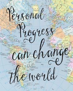 """Personal Progress can change the world"" themed Young Women in Excellence night."