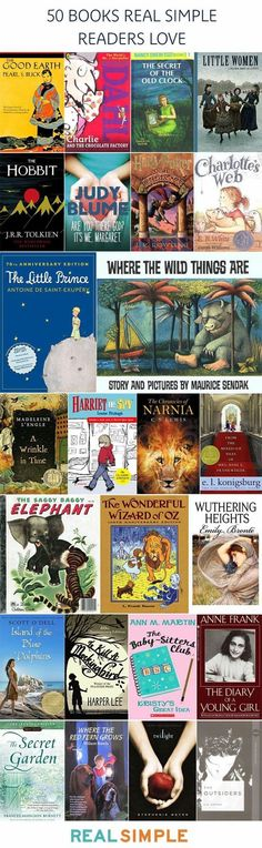 Books my kids must read