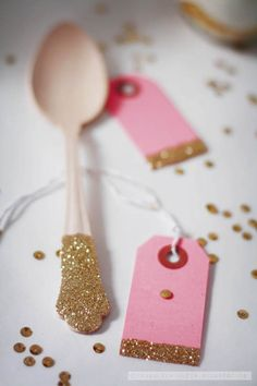 ** add a little sparkle to your dessert table **