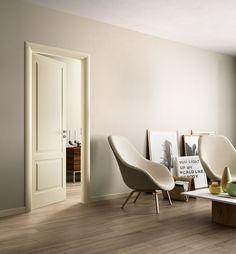 TALENTO Finition : RAL 7044, Gris Soie Habillage : Quality New. Marque Ferrero Legno. Disponible sur DirectPortes.fr, spécialiste de la porte intérieur italiennes.