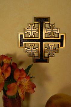 Bronze Jerusalem Cross – Celebrate Faith
