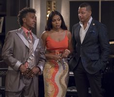 EMPIRE Season 5 Episode 3 Photos Pride Cookie and Lucious push to get back in the music game, but they'll need the whole family and some old allies to make serious sacrifices in order to do so Serie Empire, Empire Fox, Most Popular Tv Shows, Empire Season, Lee Daniels, Taraji P Henson, Jussie Smollett, Love Hat