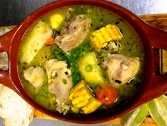 El Sancocho, traditional soup of Panama – Best Places In The World To Retire – International Living Mexican Food Recipes, Soup Recipes, Chicken Recipes, Cooking Recipes, Chicken Soup, Panamanian Food, Venezuelan Food, Colombian Cuisine, Colombian Recipes