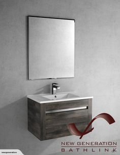 **750MM WALL MOUNT PLYWOOD VANITY UNIT**  -CHERRY WOOD FINISH-    PRODUCT CODE: BC175-1    PRICE: $479.00    OVERALL MEASUREMENT:  WIDTH: 750MM  DEPTH: 460MM  H...