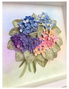 how to quill hydrangeas - Google Search