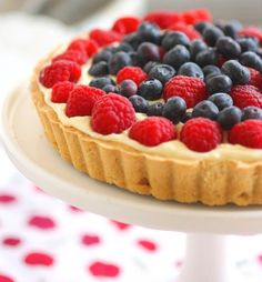 Italian Fruit Tart: Crostata di Frutta | The Tasteful Life
