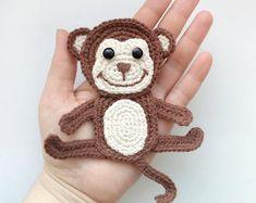 39 Best Ideas for crochet bookmark cat etsy Marque-pages Au Crochet, Crochet Easter, Chat Crochet, Crochet Amigurumi, Crochet Motifs, Crochet Hooks, Crochet Patterns, Crochet Appliques, Motifs D'appliques